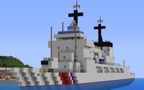 Minecraft Usa Map by Us Coast Guard Hamilton Cutter Minecraft Project