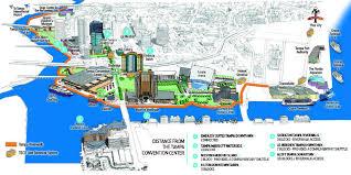 Tampa Bay Map Tampa Riverwalk Map My Blog