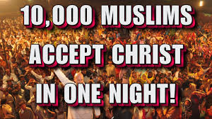 the truth is viral 10 000 pakistani u0027s accept christ in one night
