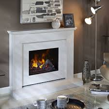 bali marble fireplace with opti myst electric fire