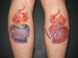 111 heart tattoo for men and woman tattoozza