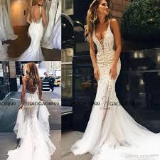custom wedding dress pallas couture 2017 lace floral mermaid wedding