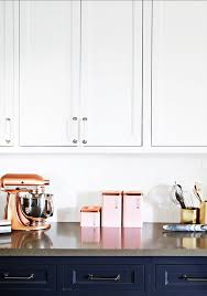 pink kitchen canisters copper pink in the kitchen kitchen confidential