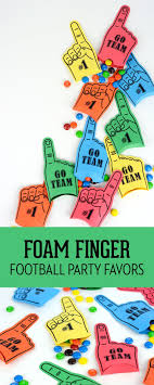 football party favors foam finger football party favors by robison on the day