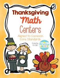 thanksgiving math centers by solis teachers pay teachers