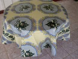 can you put a rectangle tablecloth on a round table how to make a round tablecloth youtube