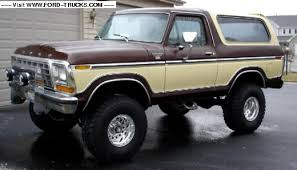 two tone 1979 ford bronco pickups pinterest ford bronco