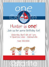 Nautical Theme Birthday Invitations - 18 best nautical baby shower and theme images on pinterest