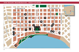Map New Orleans by Maps Update 27821888 New Orleans French Quarter Tourist Map