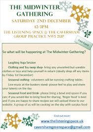 the midwinter gathering u2013 saturday 2nd december 12 3pm the