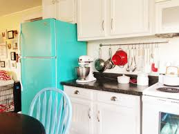 Blue Green Paint by Diy Painted Refrigerator Cozy Crooked Cottage