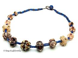 necklace beaded images Beaded bead necklace beadweaving seed beads pearls tila beads jpg