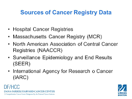 data registries cancer registries and records carol lowenstein mba ctr
