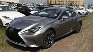 lexus new sports car new atomic silver on red 2015 lexus rc 350 awd f sport series 2