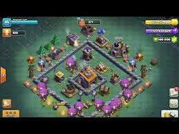 coc layout builder th8 clash of clans coc builder base mod th 8 and unlimited coins and