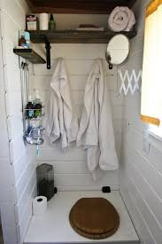 corner bathtub in a tin house studio tiny house by tiny diamond