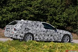 lexus hoverboard tricks the first spy photos of the next generation bmw 5 series touring 5
