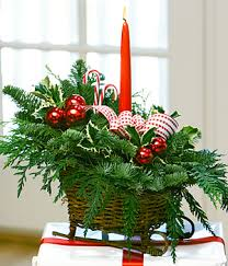Centerpieces Christmas - christmas day centerpieces terra flowers miami wedding