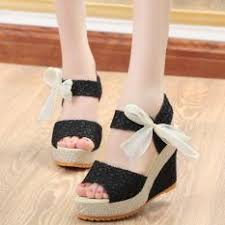 ribbon wedges women s wedges sandals for the best prices in malaysia