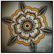 design tattoo hand geometric flower bastien jean for a tattoo hand tattoo