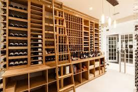 custom wine cellars extravagant home design