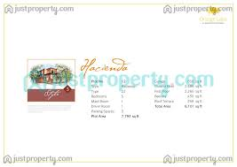 hacienda floor plans justproperty com