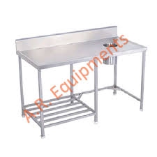 Folding Table With Sink Sink And Trolley Equipments