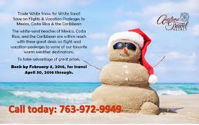 sun country vacations winter getaways anytime travel agency