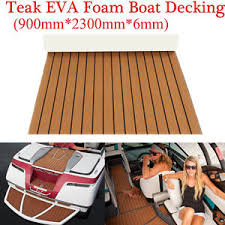 marine flooring faux teak eva foam boat decking sheet brown 91
