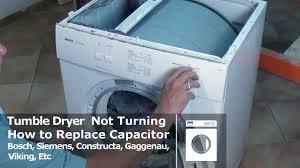 bosch tumble dryer not turning siemens constructa youtube