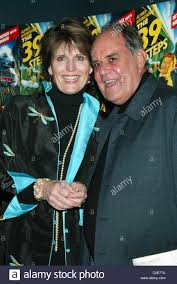 lucie arnaz and husband larry luckinbill opening night of the