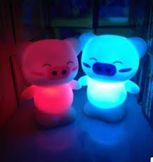 promotion dolphin colorful small lights 7color changed