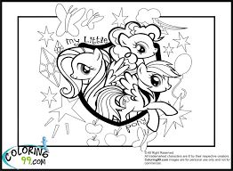 coloring pages of my little pony coloring page 4266