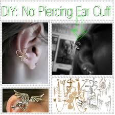 how to make ear cuffs diy no piercing ear cuff polyvore