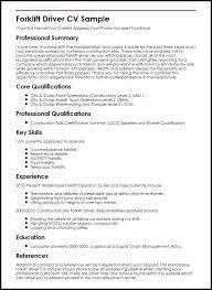 sample forklift resume u2013 topshoppingnetwork com