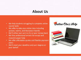 we do your online class online classes explained