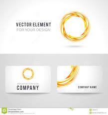 business card template design vector illustration stock vector