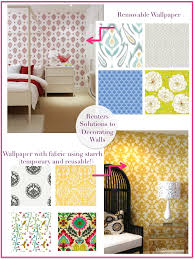 Removable Wallpaper For Renters Decorating Your Walls For Renters Cre8tive Designs Inc