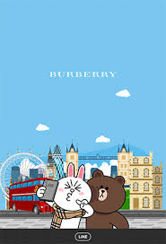 theme line blue free list line theme brown cony join burberry in london android
