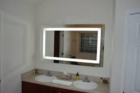 bathroom cabinets tv mirror atlanta glass company 60 inch mirrors
