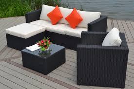 salon de jardin exterieur resine canapé exterieur resine l univers du jardin