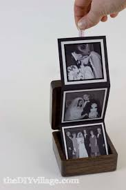 pop up photo box gift idea the diy village by thediyvillage com