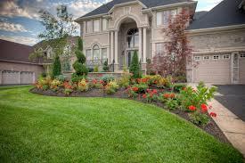 outdoor u0026 garden natural expanse green grass with beautiful red