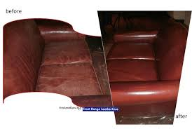 Denver Leather Sofa Total Apparel Care Denver Leather Furniture Restoration Before