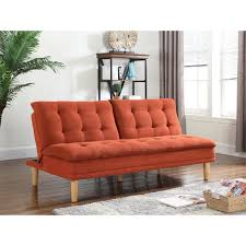 Orange Sofa Bed by Sofa Beds Futons And Sleeper Sofas 503955