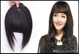 clip on bangs 100 human hair bangs clip in bangs clip in fringe neat