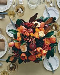 thanksgiving table flowers themontecristos