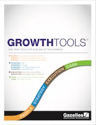 the one page strategic plan gazelles strategic planning
