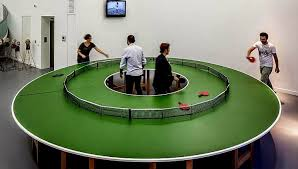 how big is a ping pong table the flying tortoise today s ping pong tables come in crazy shapes