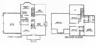 Colonial Floor Plans Cedar Crest Colonial Home Plans